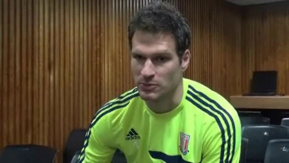 Click here to watch the Begovic On Manchester City Test video