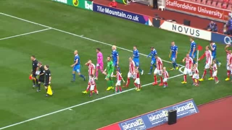 Click here to watch the Stoke 3 Portsmouth 0 video