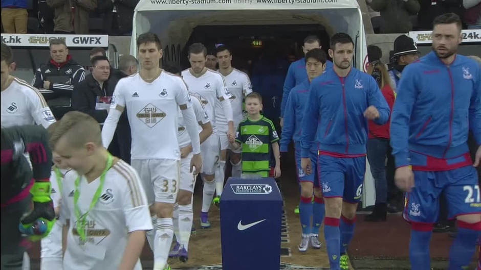 Click here to watch the Swansea v Crystal Palace highlights video