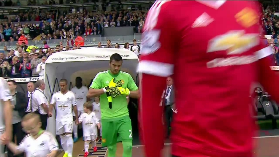 Click here to watch the Swansea v Man Utd highlights video