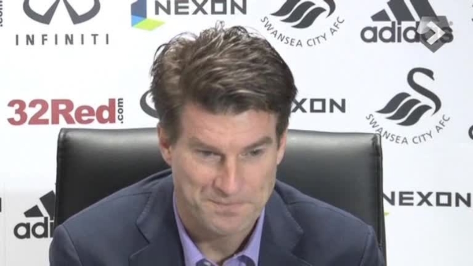 Click here to watch the VIDEO: Laudrup's press call video