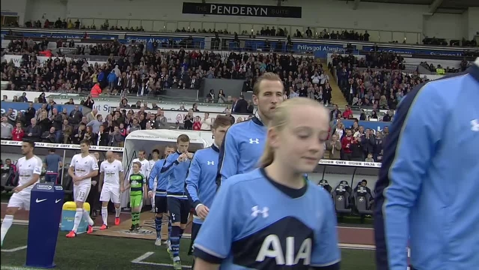 Click here to watch the Swansea v Tottenham Hotspur highlights video