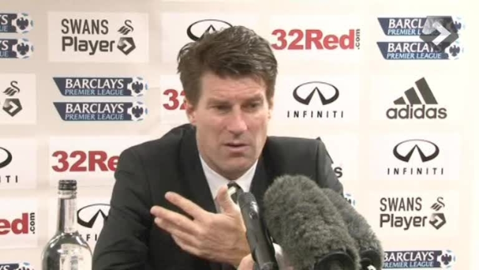 Click here to watch the VIDEO: Laudrup pleased with point video