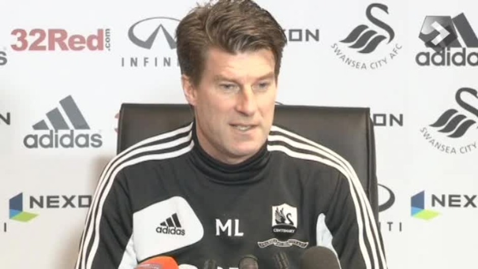 Click here to watch the VIDEO: Laudrup's cup press call video