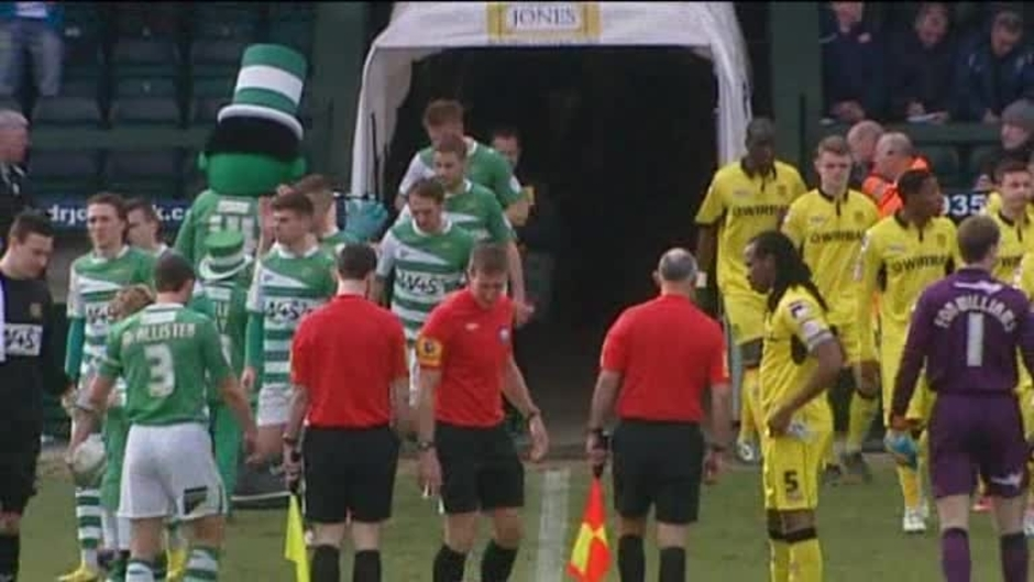Click here to watch the Yeovil 1 Tranmere 0 video
