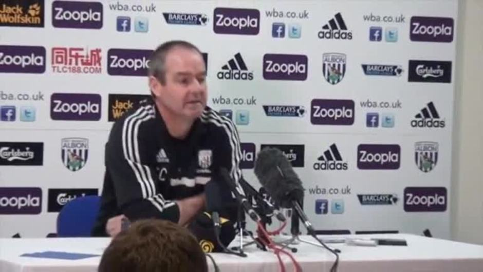 Click here to watch the Downing focussed on the job in hand video