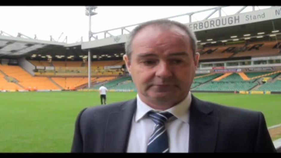 Click here to watch the Clarke: We let the fans down video