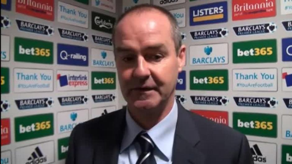 Click here to watch the Clarke frustrated not to get all three points video
