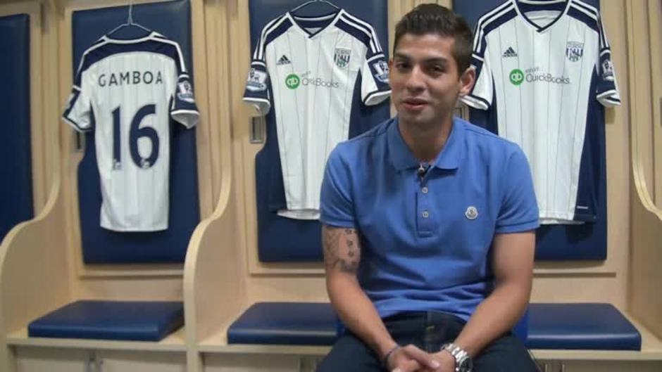 Click here to watch the Cristian Gamboa's exclusive first Albion interview video