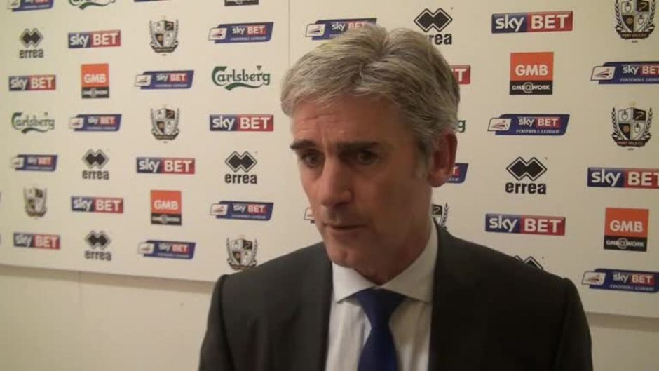 Click here to watch the Alan Irvine reacts to friendly defeat at Port Vale video