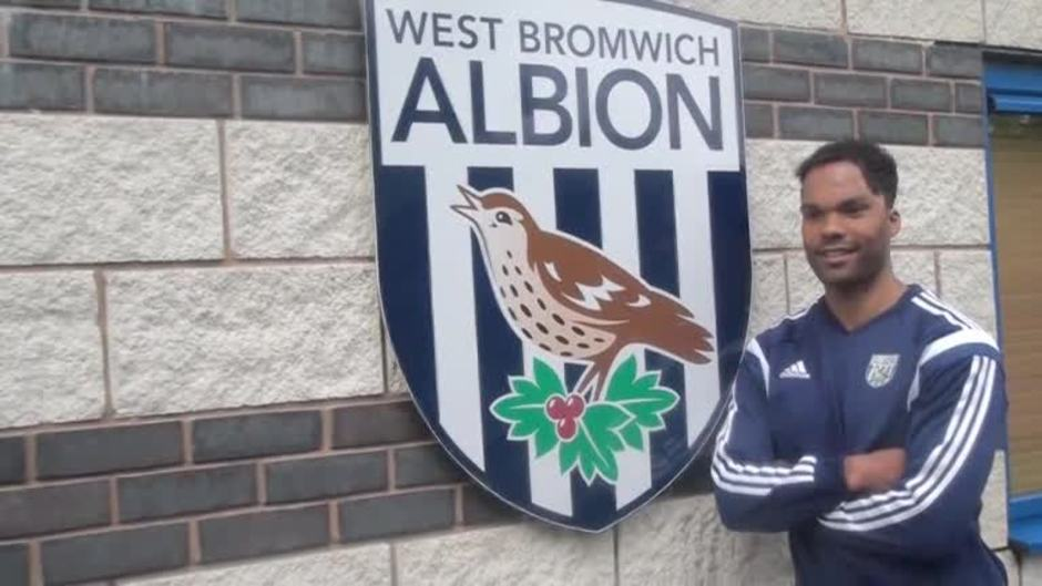 Click here to watch the Lescott's exclusive first West Bromwich Albion interview video