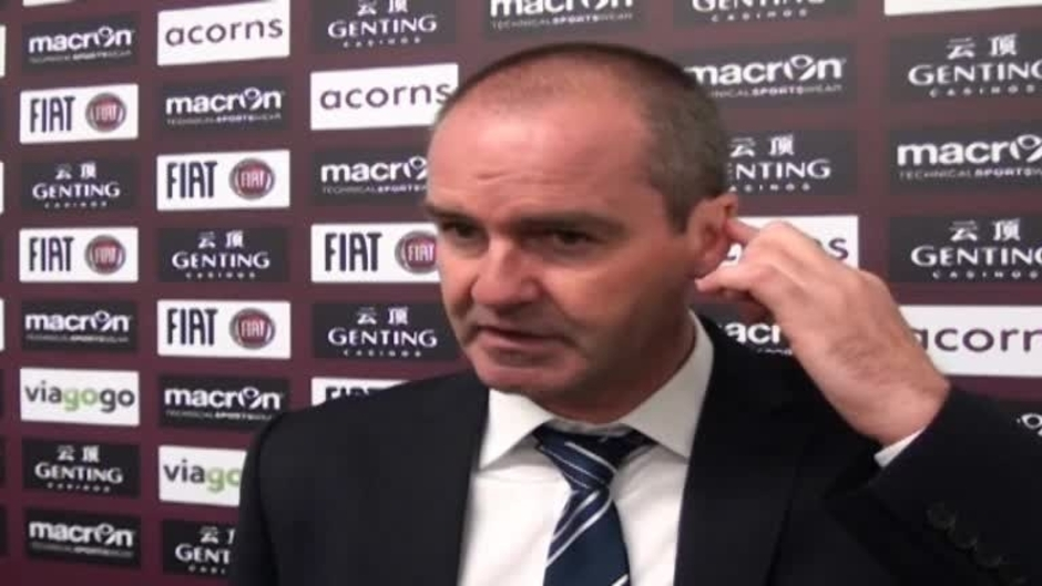 Click here to watch the Video: Clarke disappointed not to get all 3 points video