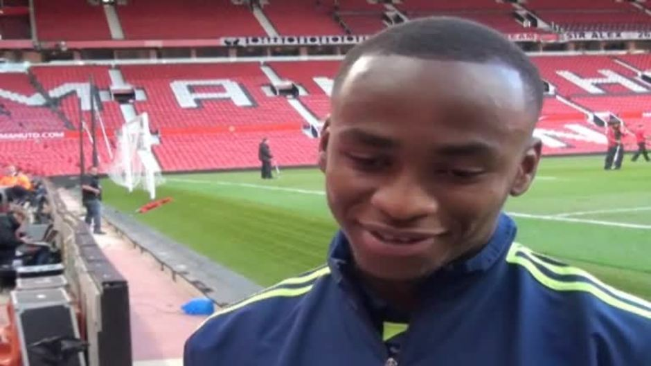 Click here to watch the Berahino: I just thought 'hit it'! video
