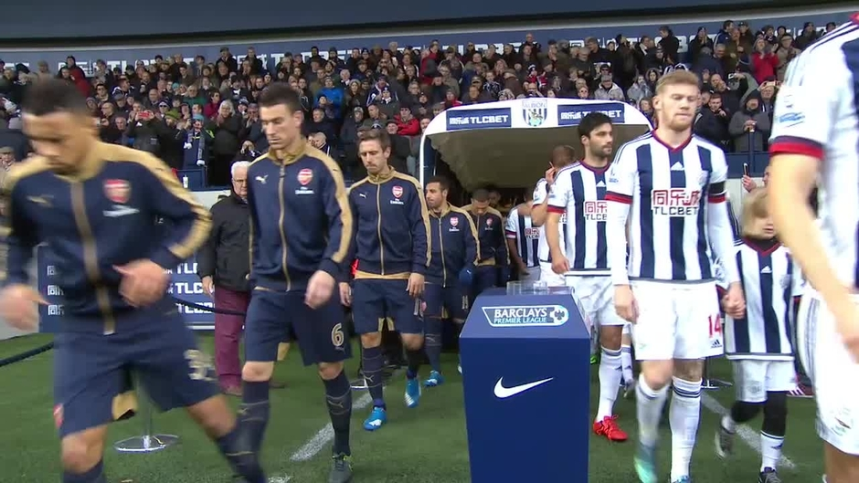Click here to watch the West Brom v Arsenal highlights video