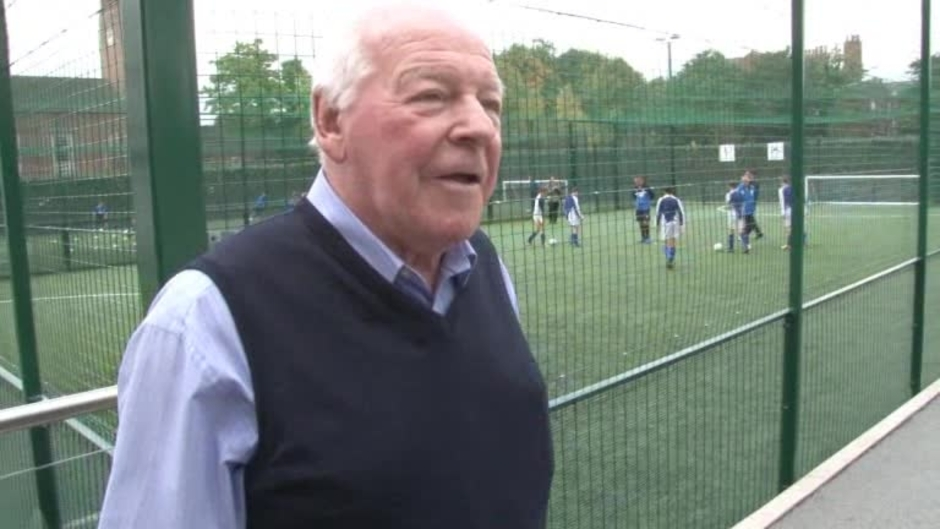 Click here to watch the VIDEO: CHAIRMAN SHOWS GAFFER AROUND video