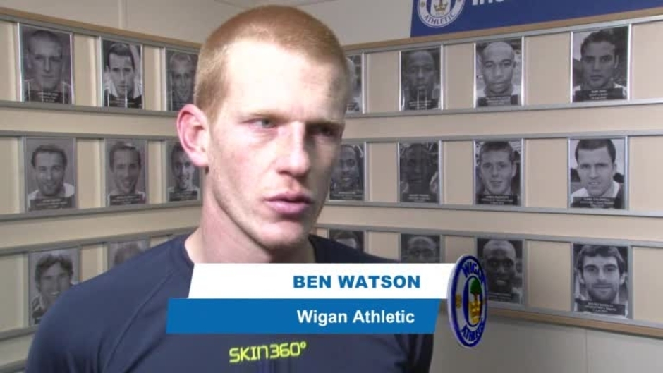 Click here to watch the VIDEO: WATSON ON BAGGIES REUNION video
