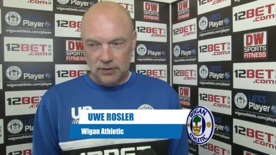 Click here to watch the VIDEO: GAFFER ON BLACKPOOL CLASH video