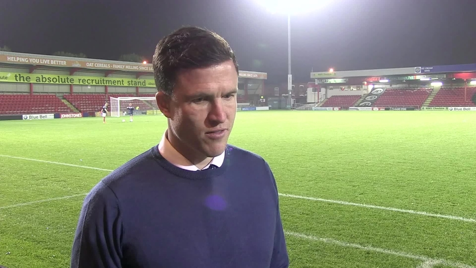 Click here to watch the REACTION: Gary Caldwell on Crewe Alexandra victory video