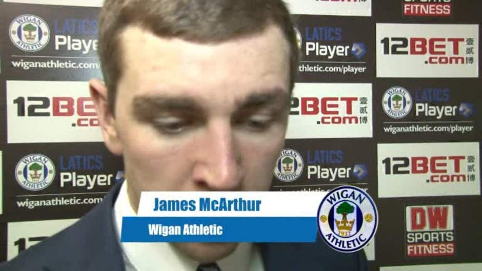 Click here to watch the VIDEO: McARTHUR ON CHARLTON WIN video