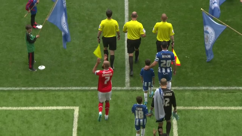 Click here to watch the Wigan v Walsall highlights video