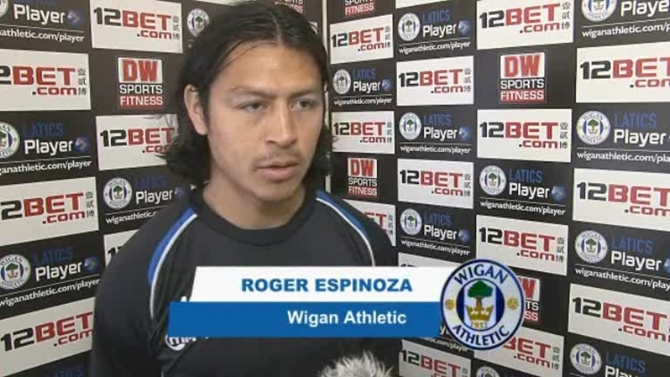 Click here to watch the WEMBLEY VIDEO: ROGER ESPINOZA video