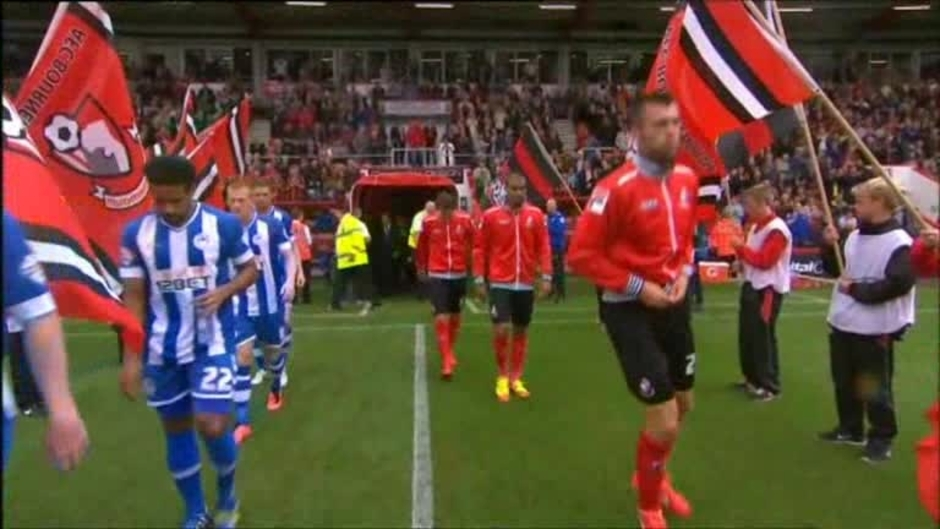 Click here to watch the Bournemouth 1 Wigan 0 video