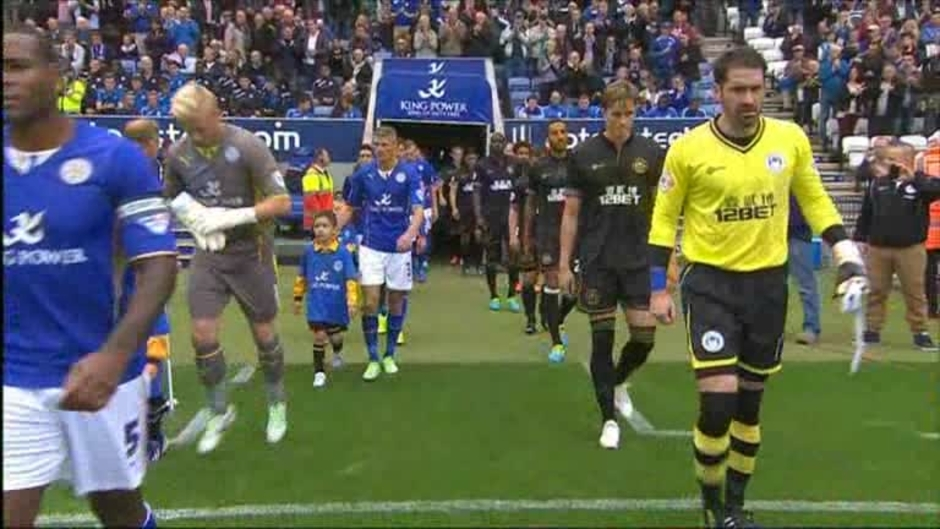 Click here to watch the Leicester 2 Wigan 0 video