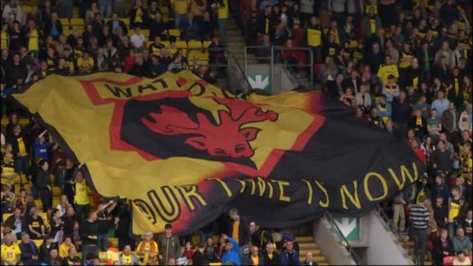 Click here to watch the Watford 1 Wigan 0 video