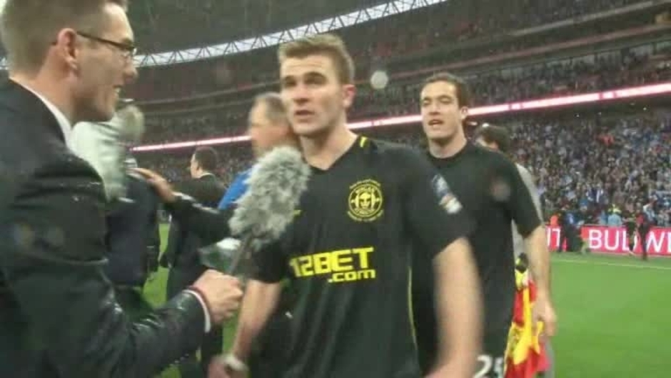 Click here to watch the FA CUP: Reaction from Callum McManaman after the final video