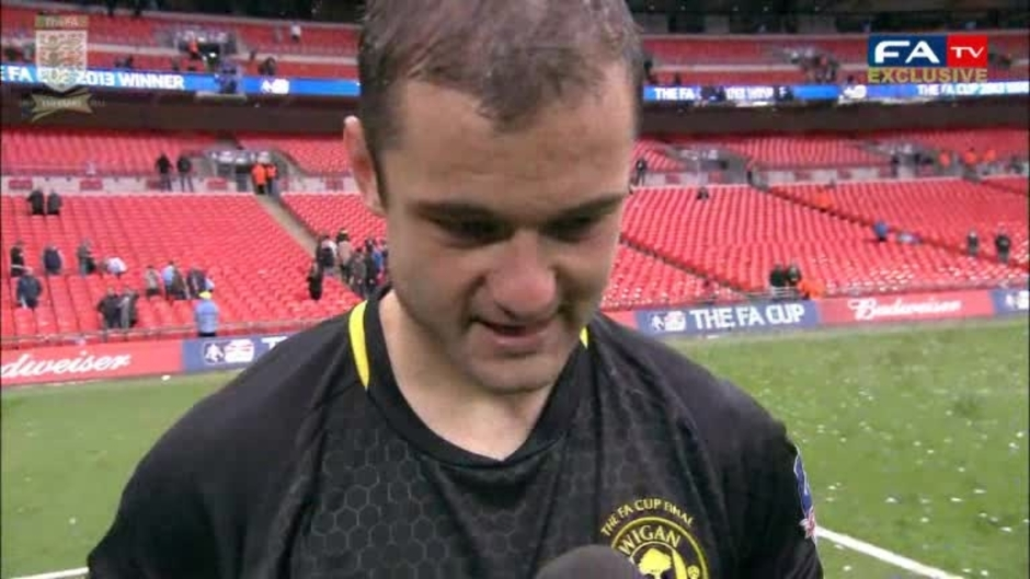 Click here to watch the FA CUP: Shaun Maloney reacts to winning the FA Cup video