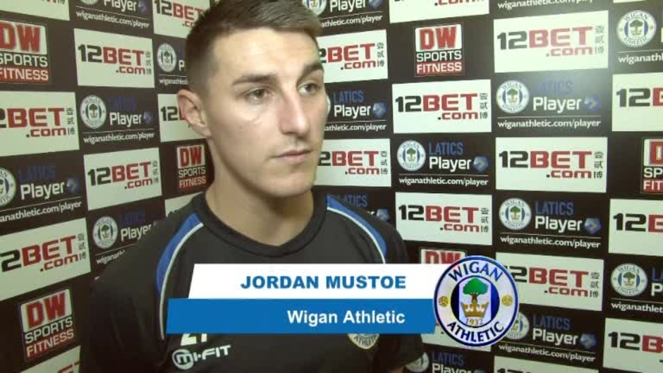 Click here to watch the VIDEO: MUSTOE RELISHING CUP CHANCES video