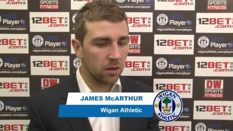 Click here to watch the VIDEO: McARTHUR ON EVERTON video