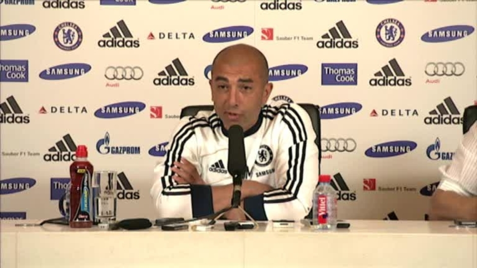 Click here to watch the VIDEO: DI MATTEO PRESS CONFERENCE video