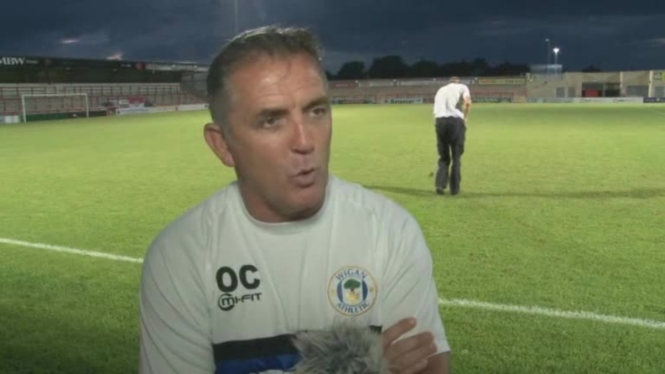 Click here to watch the VIDEO: COYLE ON WIN AT MORECAMBE video