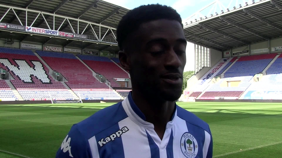 Click here to watch the SIGNING: Jordy Hiwula joins Wigan Athletic video