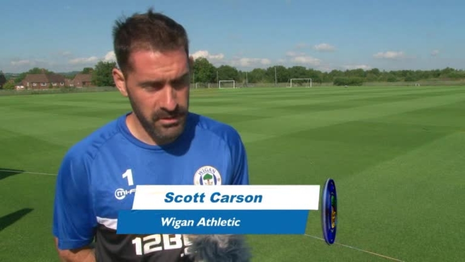 Click here to watch the VIDEO: CARSON LOOKING FORWARD TO HOME GAME video