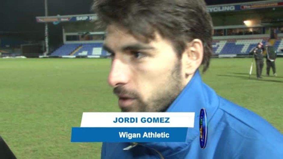 Click here to watch the VIDEO: GOMEZ & LOPEZ ON CUP WIN video