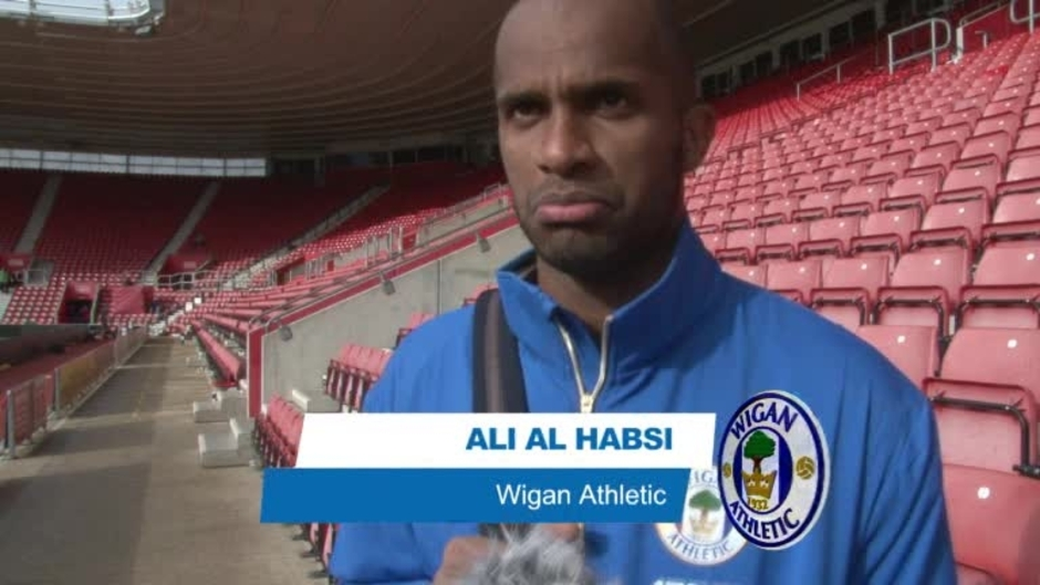 Click here to watch the VIDEO: ALI LOOKS FORWARD TO CUP CLASH video