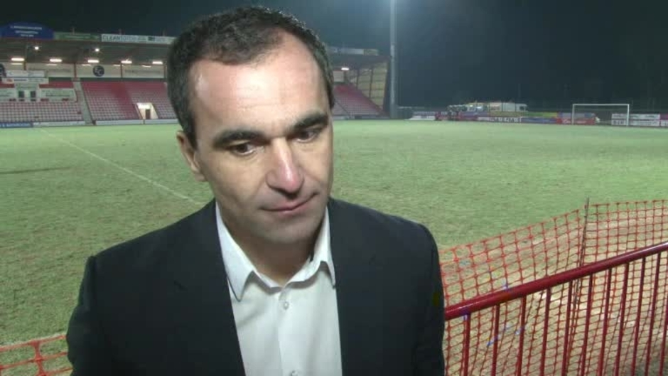 Click here to watch the VIDEO: GAFFER ON CUP WIN video