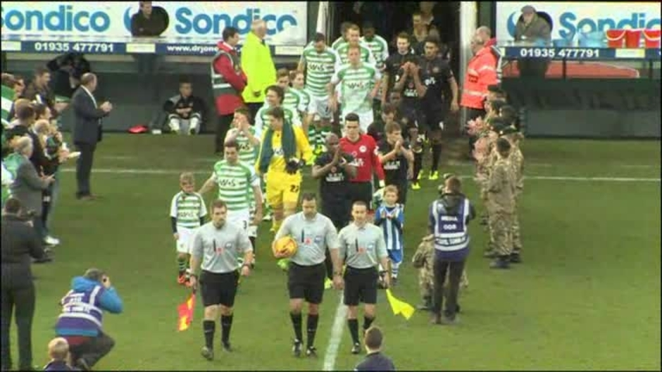 Click here to watch the Yeovil 0 Wigan 1 video
