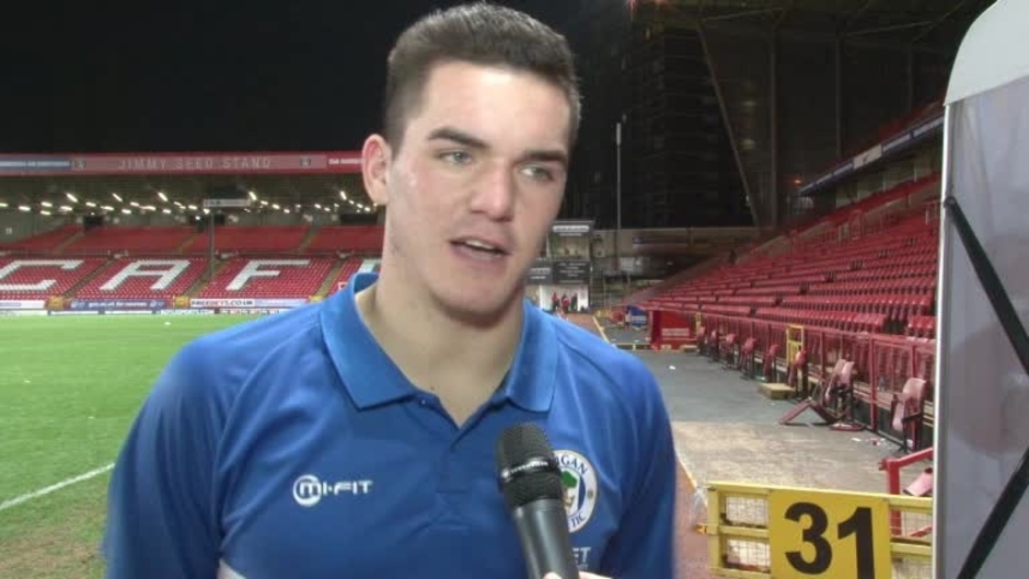 Click here to watch the VIDEO: NICHOLLS ON DEBUT video