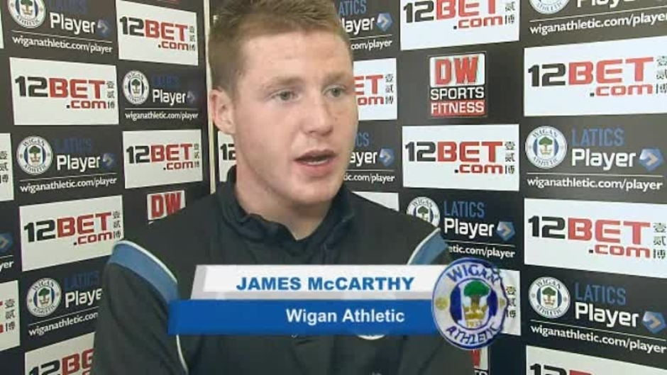 Click here to watch the WEMBLEY VIDEO: JAMES McCARTHY video