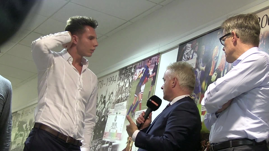 Click here to watch the 92LIVE - David Sharpe speaks to Sky Sports News video