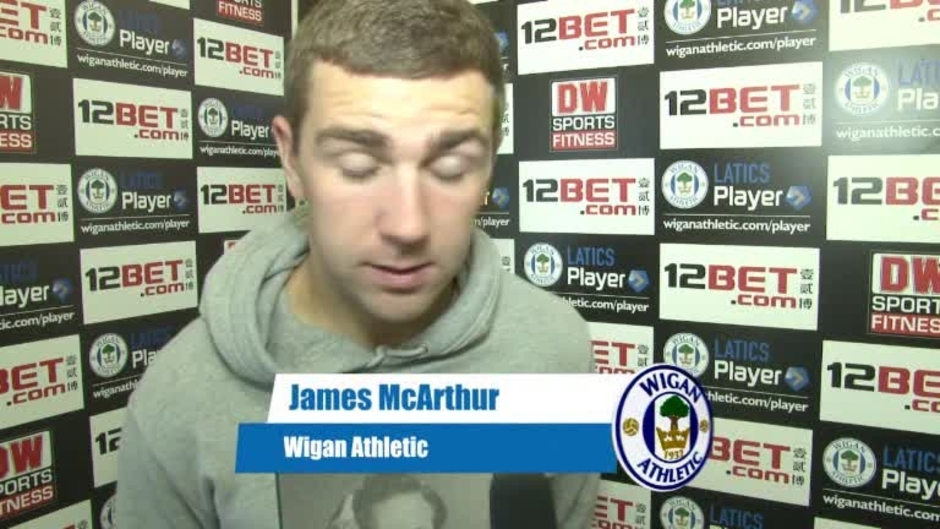 Click here to watch the VIDEO: McARTHUR ON WATFORD video
