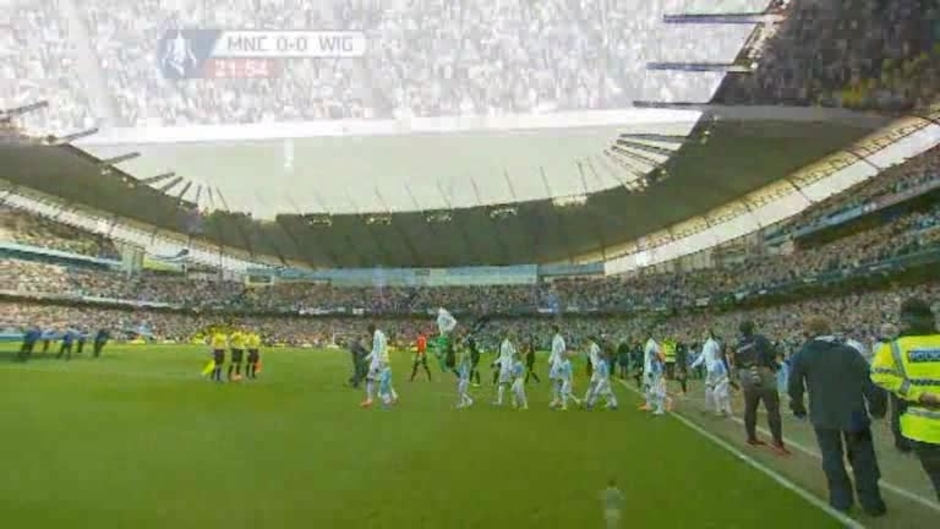 Click here to watch the Man City 1 Wigan 2 video