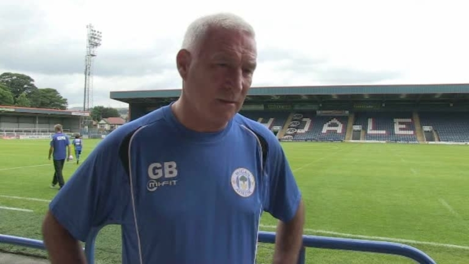 Click here to watch the VIDEO: GRAHAM BARROW POST ROCHDALE video