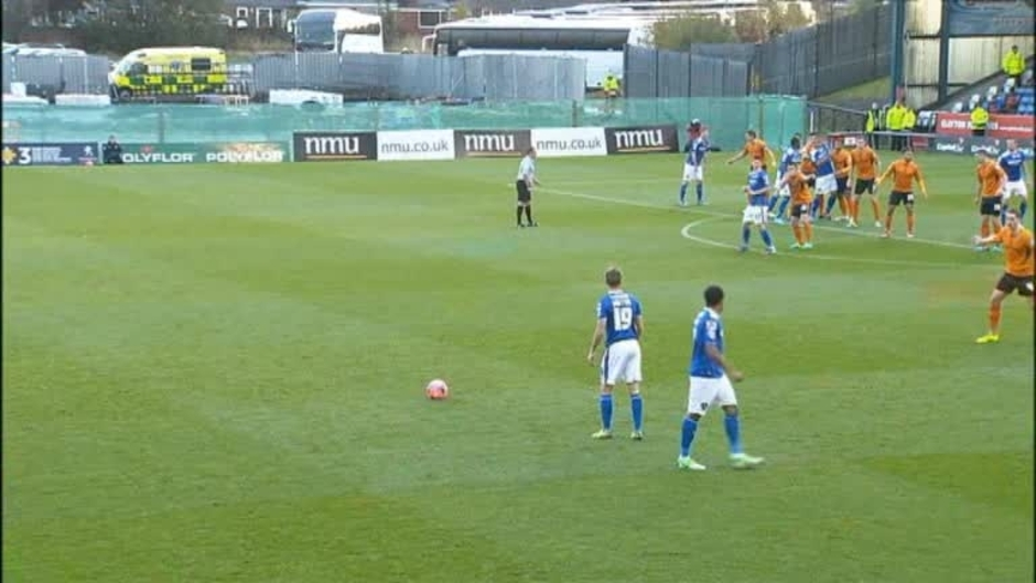 Click here to watch the Oldham 1 Wolves 1 video