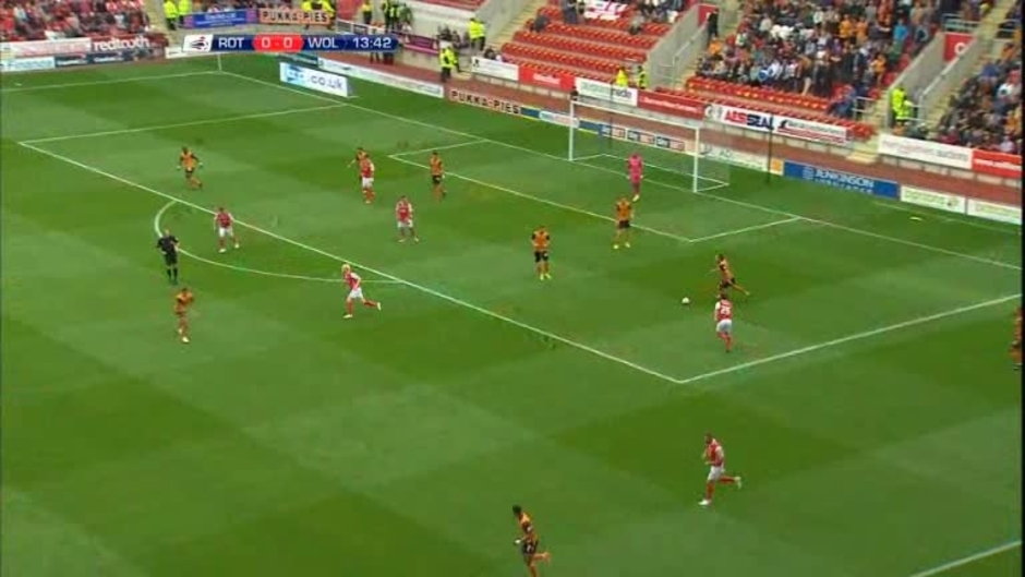 Click here to watch the Rotherham 1 Wolves 0 video