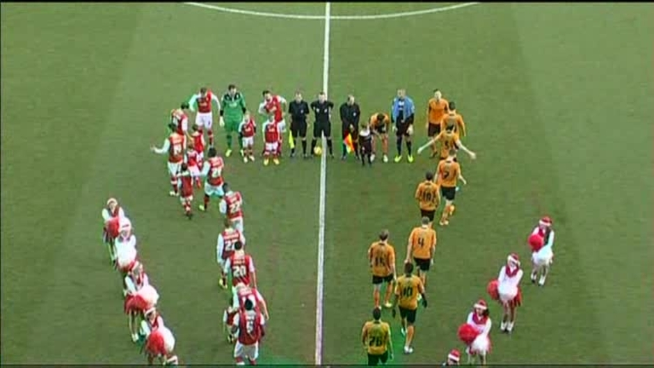 Click here to watch the Rotherham 3 Wolves 3 video