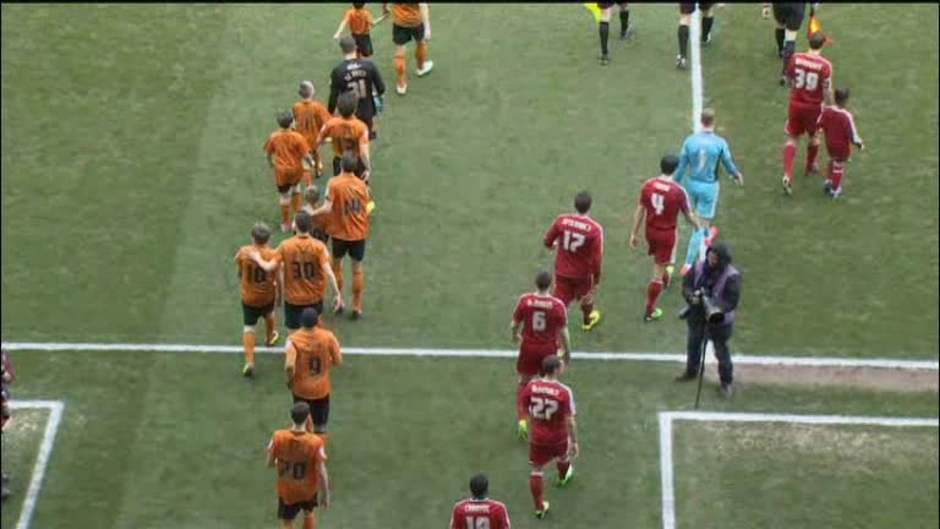 Click here to watch the Wolves 3 Middlesbro 2 video